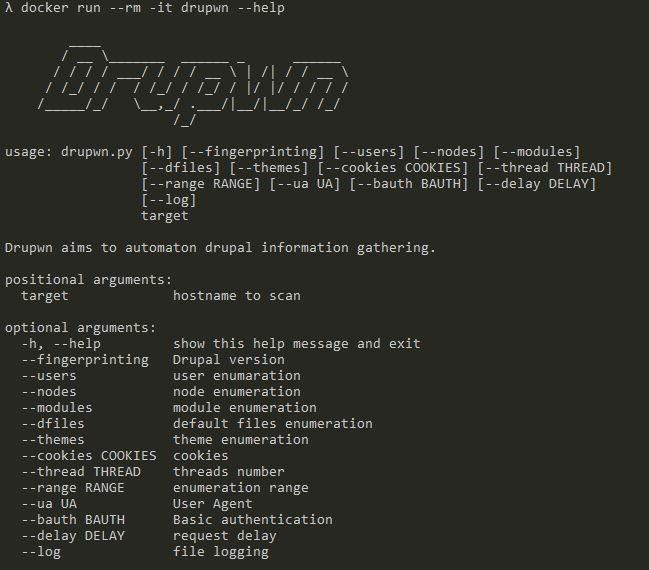 immunIT – Yet another Drupal scanner – Drupwn